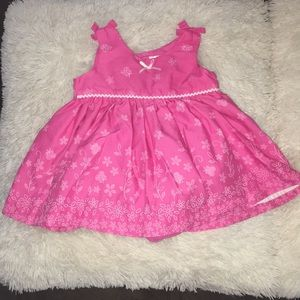 Spring dress with bloomers
